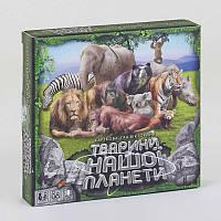 Игра настольная большая Тварини нашої планети G-JNP-01 U New Данко Тойс - 218941