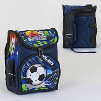 Рюкзак школьный каркасный C 36159 50 1 отделение, 3 кармана, спинка ортопедическая, 3D принт - 220655