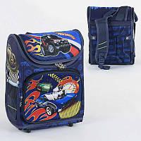 Рюкзак школьный каркасный С 36172 50 1 отделение, 3 кармана, спинка ортопедическая, 3D принт - 220657