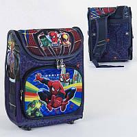 Рюкзак школьный каркасный С 36173 50 1 отделение, 3 кармана, спинка ортопедическая, 3D принт - 220658
