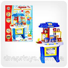 Набір дитячий «Кухня маленької хазяєчки» (світло, музика) (синьо-жовта)