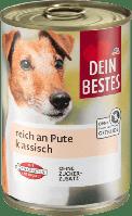 Dein Bestes паштет для собак с индейкой 400 г ж/б (Германия)
