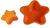 Форма для кекса силиконовая (0,2 * 12,4см.) В форме звездочки 13082