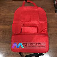 Автомобильный подвесной органайзер на спинку переднего сидения машины сумка на автокресло красный