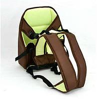 Рюкзак-кенгуру 1 сидя, коричневый. Предназначен для детей с трехмесячного возраста - 219569