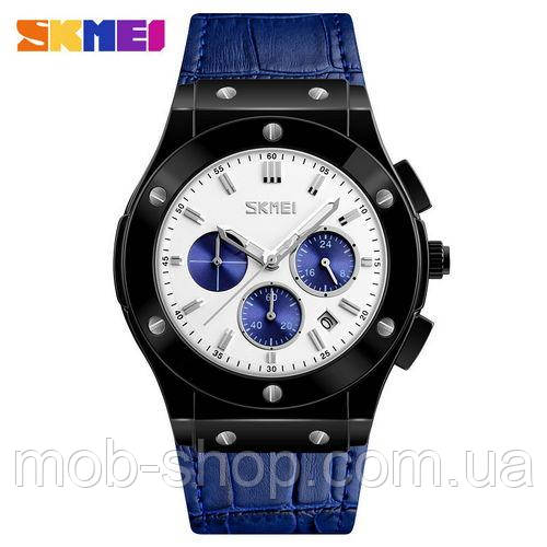 Наручные часы Skmei 9157 Blue-Black-White-Blue оригинал