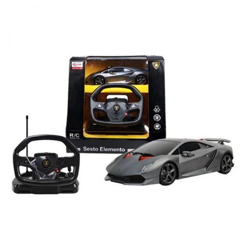 "Машинка на радиоуправлении ""Lamborghini Sesto Elemento"" с рулем 53700-10"