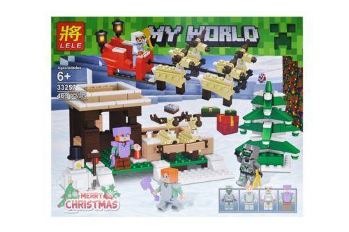 """Конструктор """"My World Minecraft: Рождество"""", 463 дет 33257"""