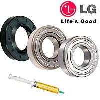 Набор подшипников и сальник (6205+6206+37*66*9.5/12) для стиральной машины LG