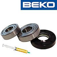Комплект подшипников и сальник (6203+6204+25*50*10WLK) для стиральной машины Beko