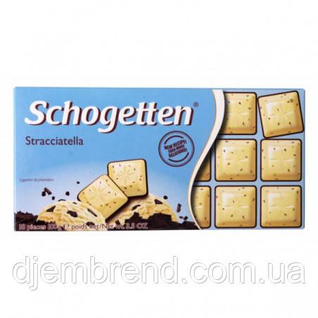 "Шоколад ""Schogetten"" Stracciatella, 100 г"