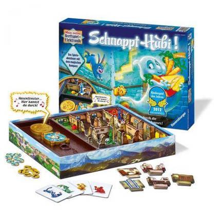 Настольная игра Ravensburger Schnappt Hubi! немецкий
