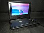 """Цифровий портативний DVD плеєр Opera NS-998 + TV 9,5""""/DVB-T2/Games, фото 3"""