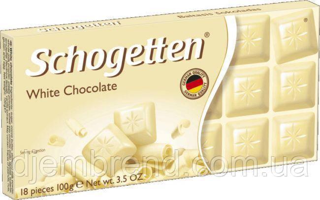 "Шоколад ""Schogetten"" White Chocolate, 100 г"
