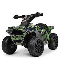 Квадроцикл Bambi M 4207ELS-18 Khaki (M 4207EL)