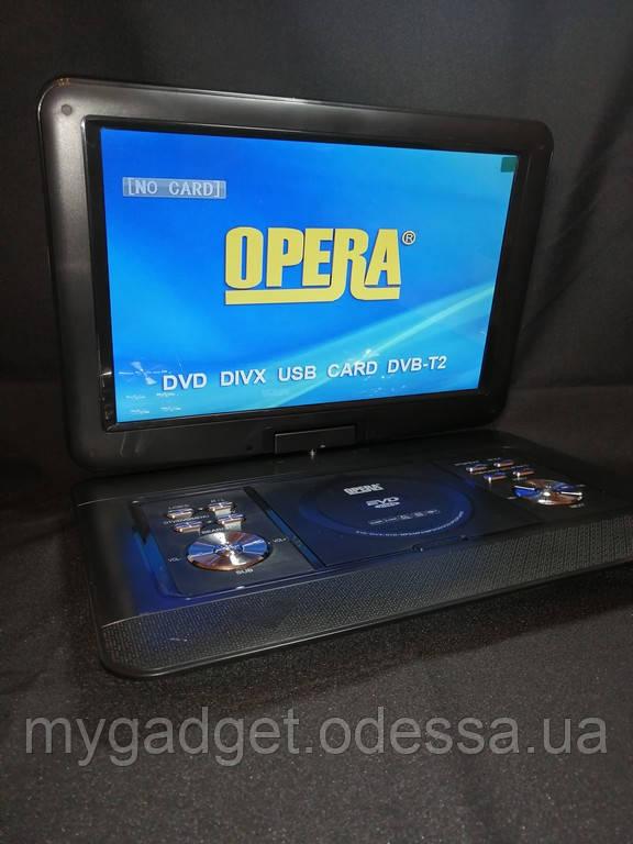 """Цифровой портативный DVD плеер Opera NS-1680 + TV 21""""/DVB-T2/Games"""