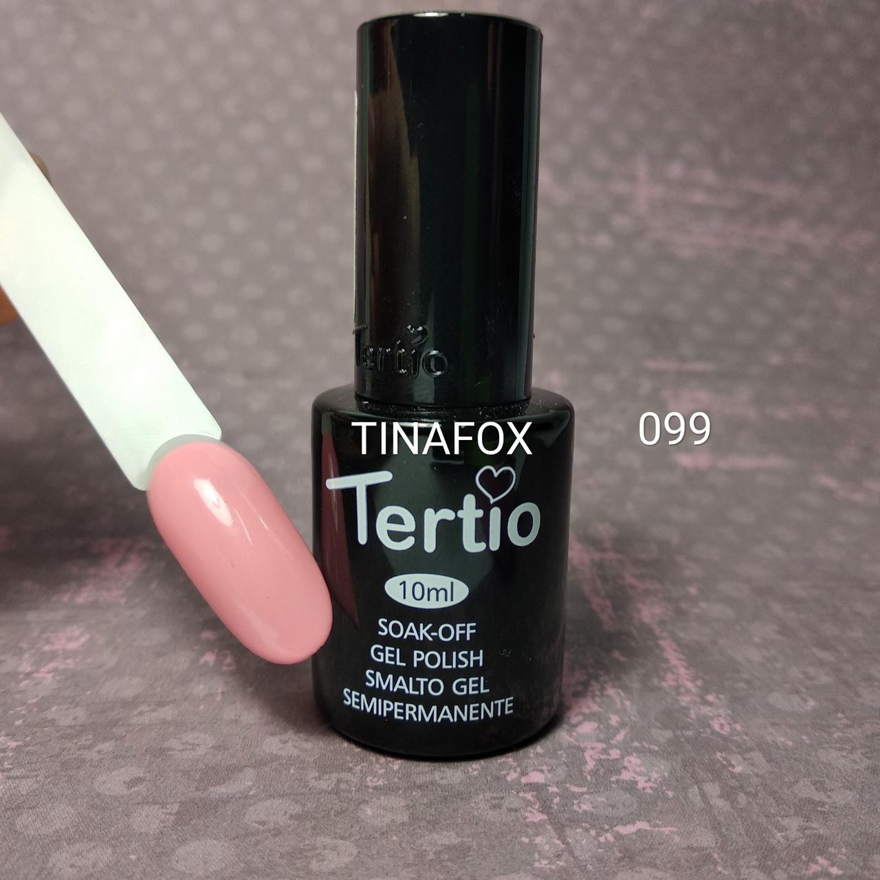 Гель-лак для ногтей Tertio №99, 10мл