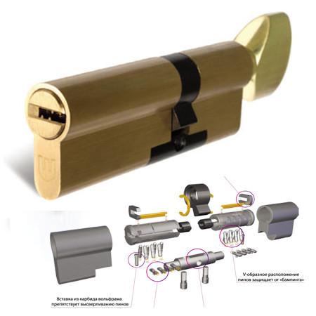Цилиндр замка Шерлок HK 85 (45Тх40)-T-BR