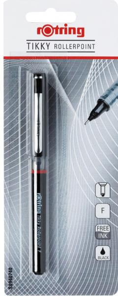Ручка Rotring Drawing Tikky Rollerpoint Rb F