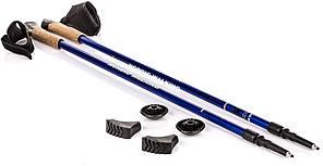 Палки для скандинавської ходьби NILS Extreme NW 607 Blue