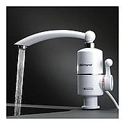 Водонагреватель проточный 3 кВт Delimano Pro, мини бойлер для кухни и ванной
