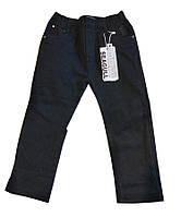 Детские штаны  утепленные для мальчика на подтяжках  р 98-122  см