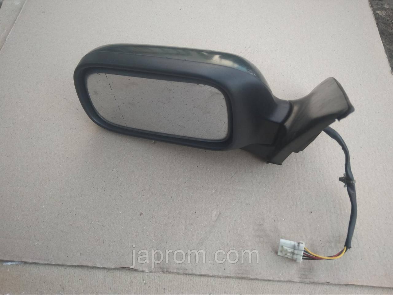Зеркало заднего вида левое Nissan Primera P11 зелоное