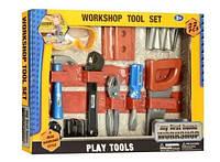 Набор инструментов игровой Workshop Tool Set 29118-19, 22 детали, фото 1