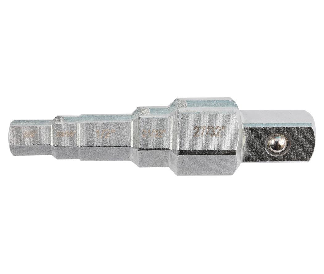 """Ключ для американок ступенчатый, 1/2"""", 3/8"""", 21/32"""", 27/32"""", 29/68"""", YATO (YT-03316)"""