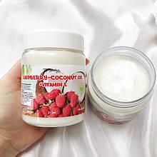 """Ароматизоване кокосове масло для тіла """"Малина"""" Top Beauty 250 мл"""