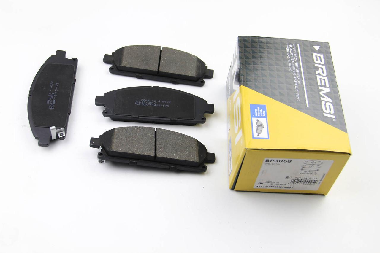 Колодки тормозные передние Nissan X-Trail 2001-2013 (159x56x16,4)  BP3068