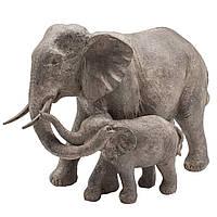 Фигурка Слоны семья 36см 108554