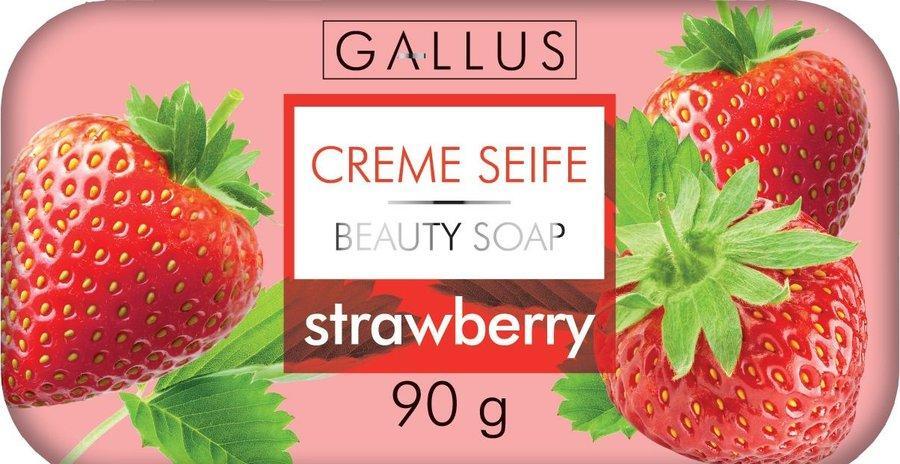 Тверде мило 90 гр Strawberry Gallus Creme Seife 4251415300964