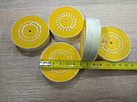 Муслиновый круг 60 мм желтый