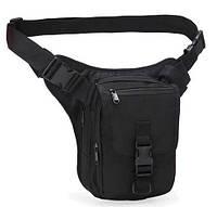 Набедренная поясная сумка-кобура TacticBag RVL A9001-черный