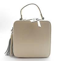 Женская сумочка GАLАNTY молочного цвета (4659)