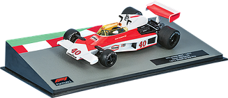 Formula 1 (Формула 1) Centauria (1:43) №21 -McLaren M23 Жиль Вильнёв (1977)