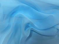 Ткани для танцев шифон ICE BLUE
