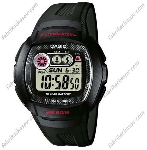 Часы Casio ILLUMINATOR W-210-1CVE