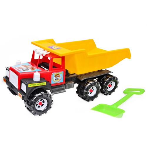 Детская машинка Kinderway Ман 08-804 для игры на улице с лопатой