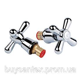 Кран-букса Q-tap D11 CRM Dominox (пара)