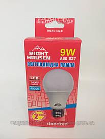 Светодиодная лампа 9W