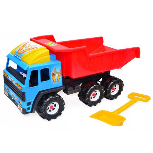 Машина детская Скания Kinderway 08-805 с лопатой для детей от 3 лет
