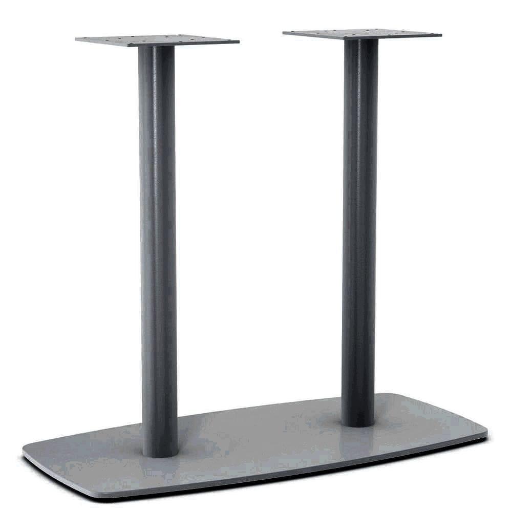 Итальянская металлическая опора с двумя ножками для стола