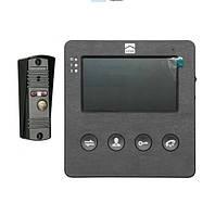 Комплект Видеодомофон и вызывная панель DOM D4B