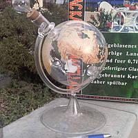 Эксклюзивная бутылка-глобус под коньяк.