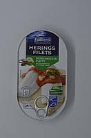 Филе сельди Fjordens Herring Filets mit Gemusebeilage in wurziger Sauce 200 г, фото 1