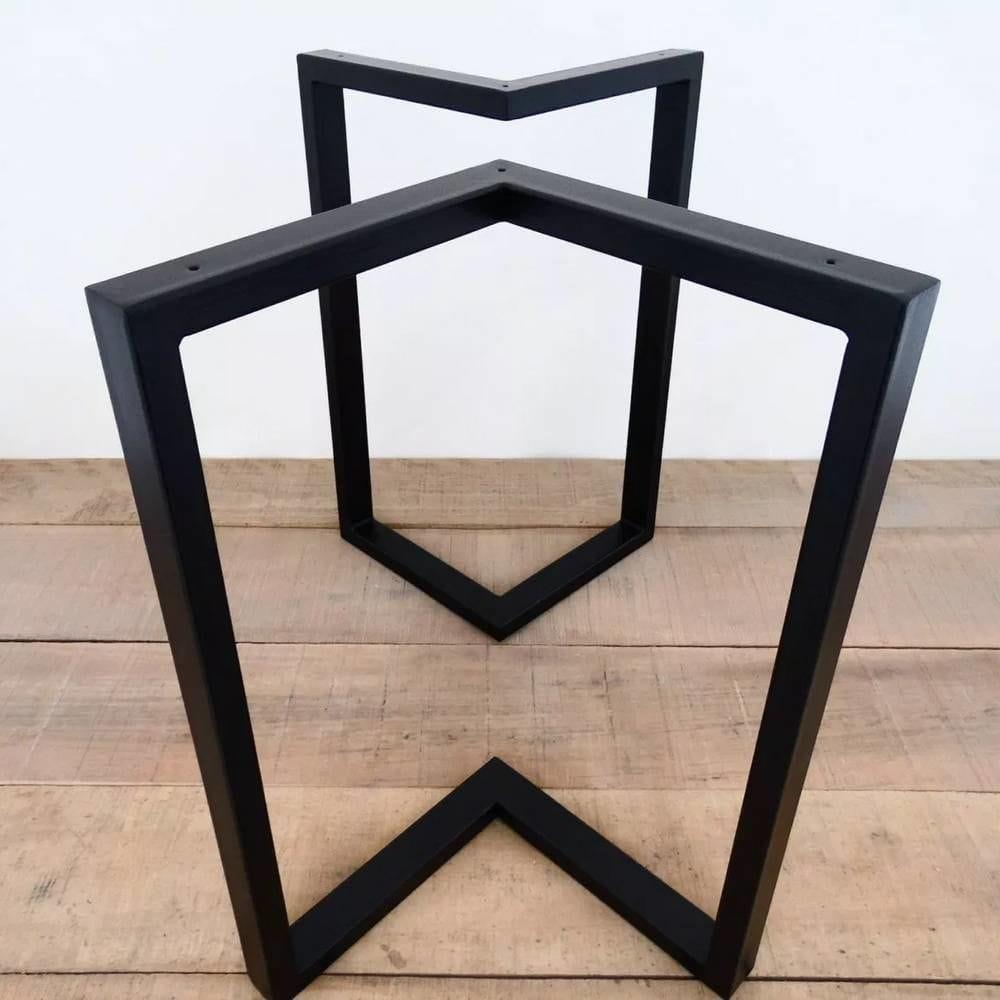 Металлические черные опоры для столика N45 ножки для стола