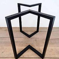 Металлические черные опоры для столика N45 ножки для стола, фото 1