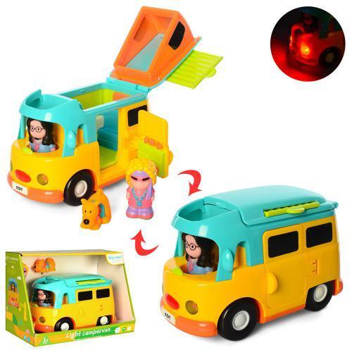 Развивающая игрушка-машинка X13963 подвижные детали световые и музыкальные эффекты